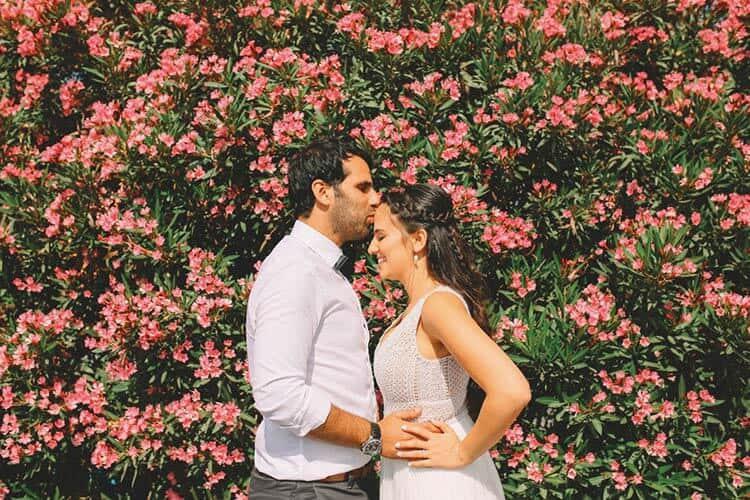ייטב ועידן - חתונה במרפסת אירועים